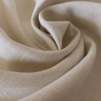 Sand 100% linen fabric