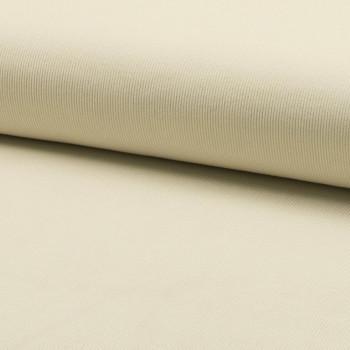 Tissu velours côtelé 100% coton blanc écru