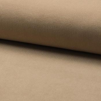 Corduroy fabric 100% cotton beige sand