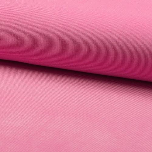 Tissu velours côtelé 100% coton rose