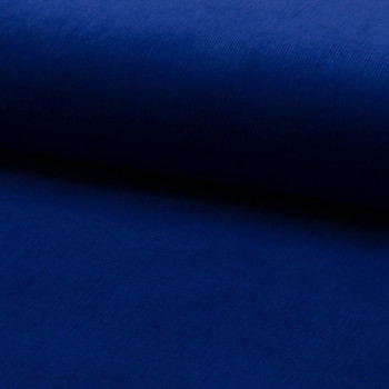 Corduroy fabric 100% cotton royal blue
