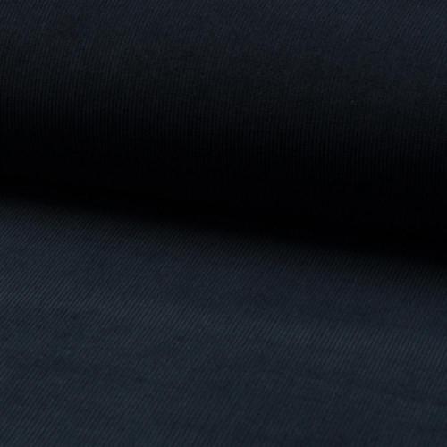 Corduroy fabric 100% cotton marine blue