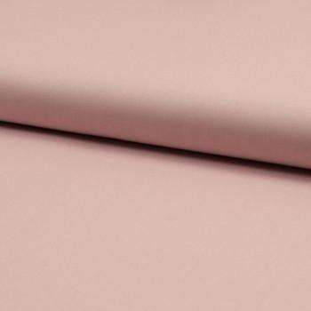 Tissu popeline 100% coton bio rose