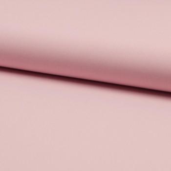Tissu popeline 100% coton uni rose