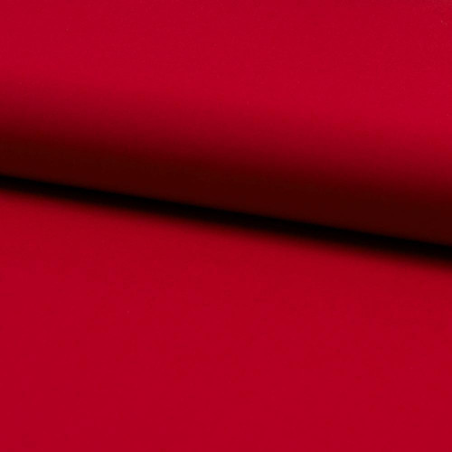 100% cotton plain poplin fabric red