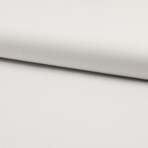 Tissu popeline 100% coton uni blanc optique