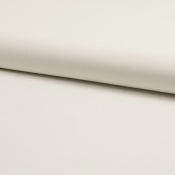 100% cotton plain poplin fabric raw white