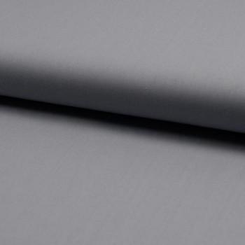 100% cotton plain poplin fabric silver grey