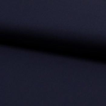 Tissu popeline 100% coton uni bleu marine