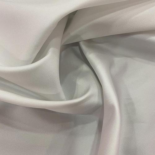 Tissu mikado de soie souple blanc ivoire