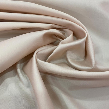 Mikado soft nude silk fabric