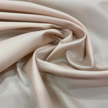 Tissu mikado de soie souple nude