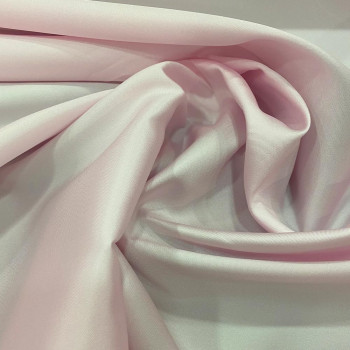 Mikado soft pink silk fabric
