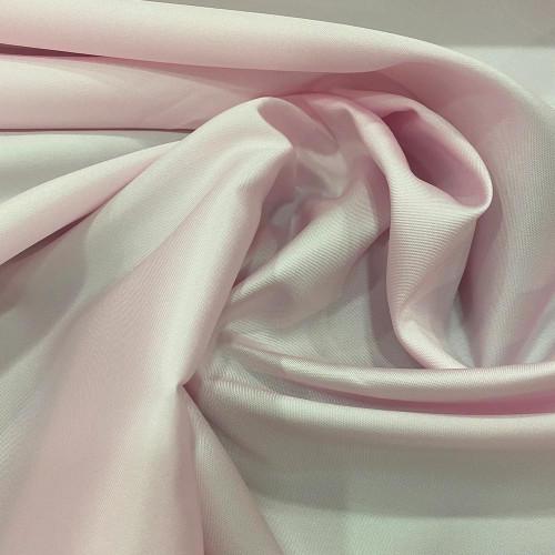 Mikado soft pink silk fabric