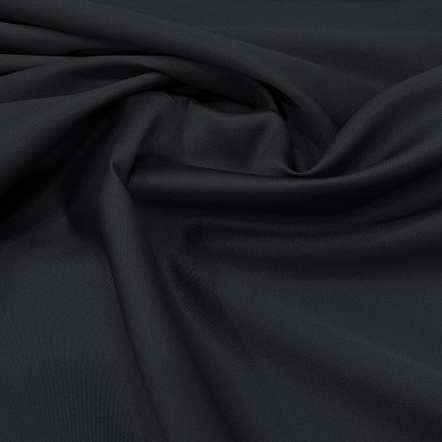 Tissu mikado de soie souple bleu marine