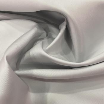 Mikado soft pearl grey silk fabric