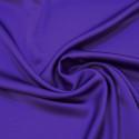 Tissu caddy crêpe envers satin violet