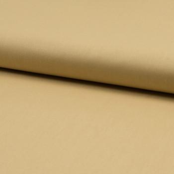100% organic cotton poplin fabric yellow straw