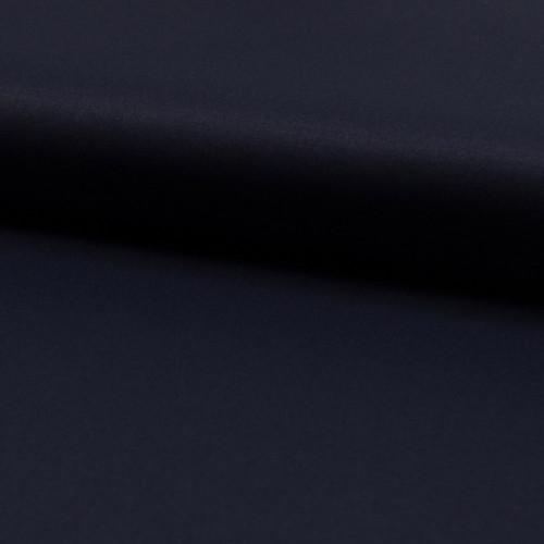 Tissu toile gabardine bleu marine