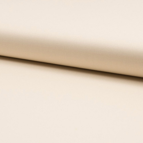 Tissu toile gabardine blanc écru