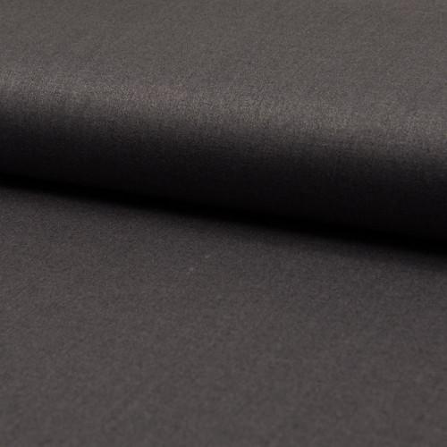 Tissu toile gabardine gris