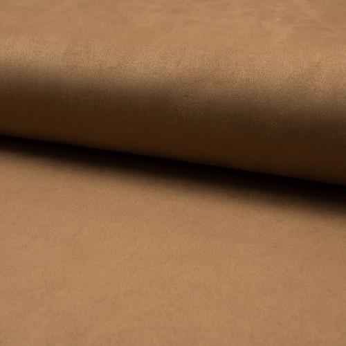 Tissu suédine scuba lourde camel