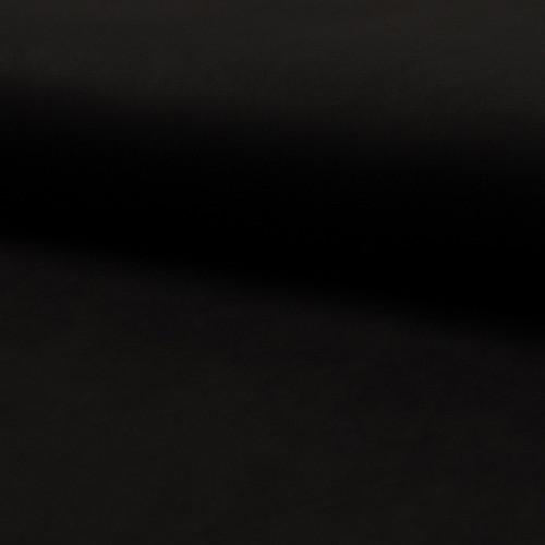 Tissu suédine scuba lourde noir