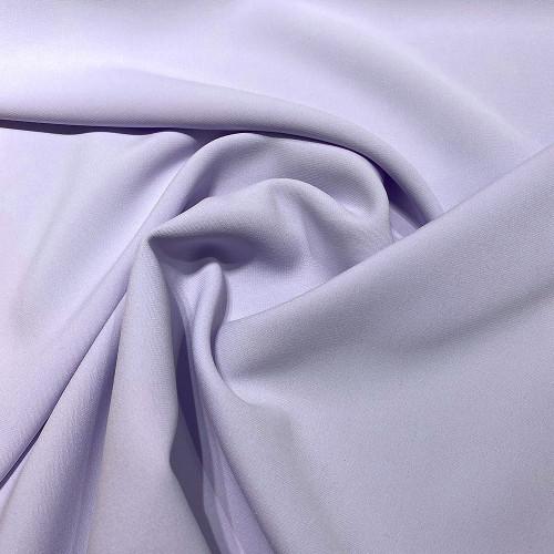 Tissu double crêpe parme