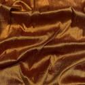 Tissu doupion de soie indien flammé 100% soie whisky