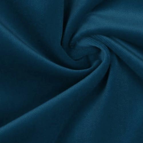 Tissu velours 100% coton vert canard