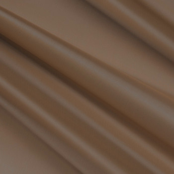 Tissu doublure pongé 100% cupro beige