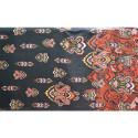 Paisley printed silk voile fabric (1.60 meters)