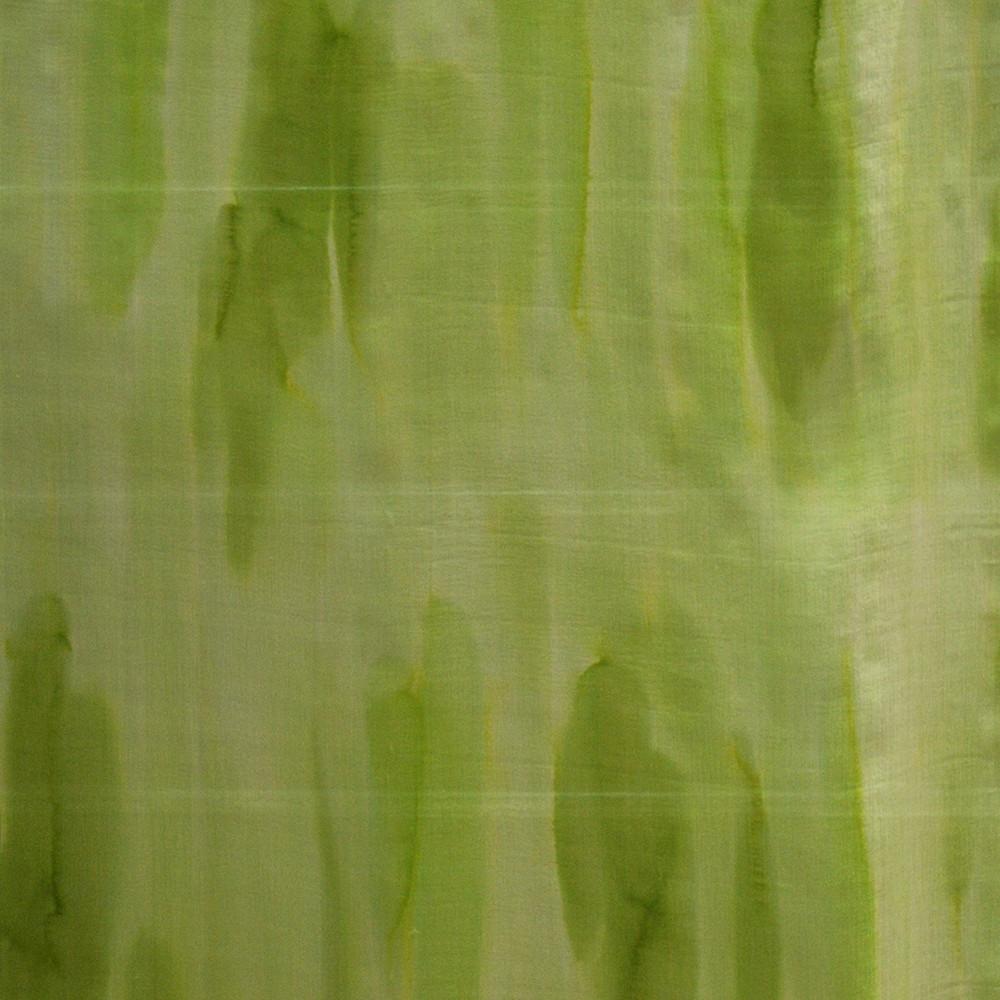 tissu mousseline soie imprim e effet tie and dye vert anis. Black Bedroom Furniture Sets. Home Design Ideas