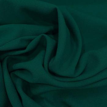 Tissu crêpe de laine 100% laine bleu turquoise