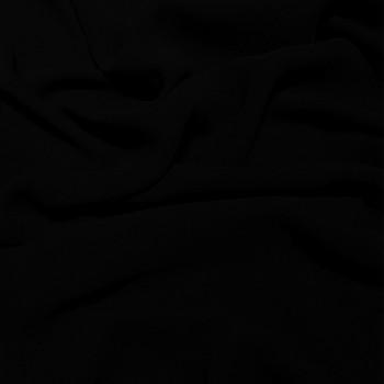 Tissu crêpe georgette viscose noir