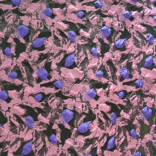 Silk jacquard fabric purple fuchsia