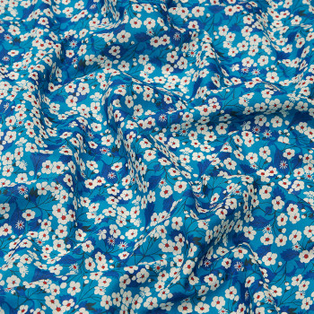 Liberty fabric blue Mitsi