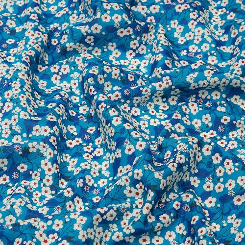 Liberty fabric blue Mitsi