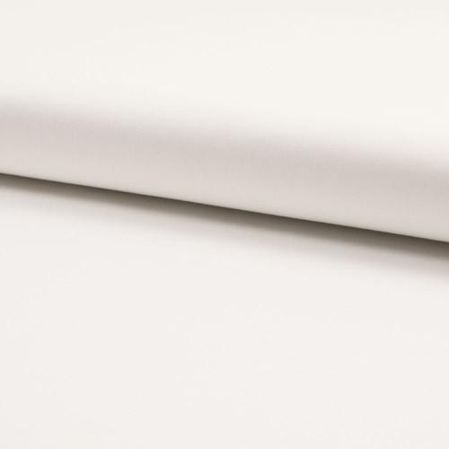Tissu satin de coton blanc