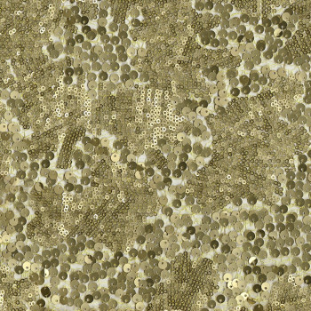 Gold sequins fabric