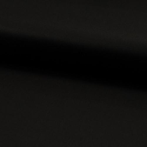Tissu satin de coton noir