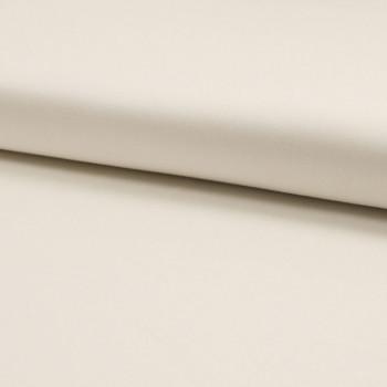 Cotton satin fabric raw white