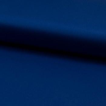 Tissu satin de coton bleu roi