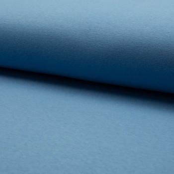 Blue sweatshirt fleece fabric