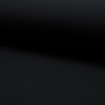 Black sweatshirt fleece fabric