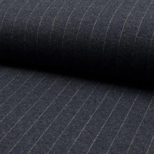 Gray herringbone tennis stripe fabric
