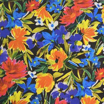 100% polyester printed quilted fabric