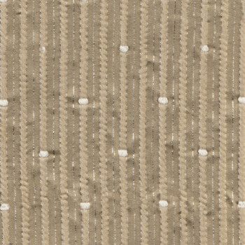 Beige jacquard fabric fantasy lurex threads