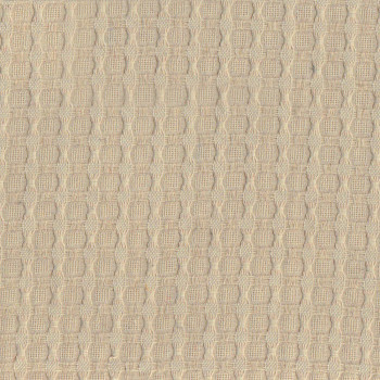 Sand beige cotton piqué fabric