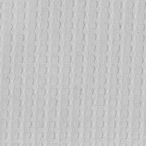 White cotton piqué fabric